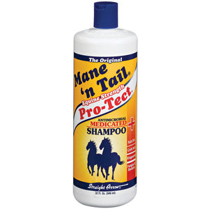 MANE 'N TAIL PRO-TECT ANTIMICROBIAL MEDICATED SHAMPOO FOR HORSES 32-OZ-08642401