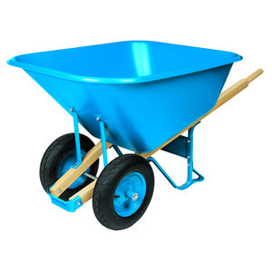TRUPER POLY TRAY WHEELBARROW 10 CU FT-13501068