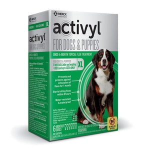 ACTIVYL FOR XL DOGS AND PUPPIES 89-132 LBS 3-MONTH SUPPLY-13842630