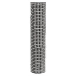"WIRE FENCING WELDED 24"" X 25FT WITH 1"" X 1/2"" MESH - GALVANIZED STEEL-14200006"
