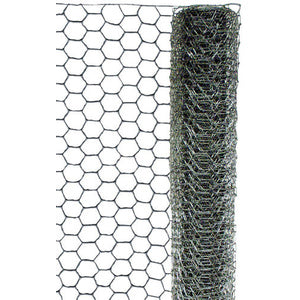 "POULTRY NETTING 1"" X 48"" X 25FT GALVANIZED STEEL-14210006"