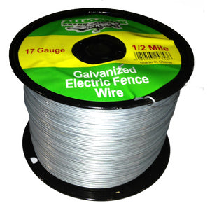 17 GAUGE 1/2 MILE GALVANIZED ELECTRIC FENCE WIRE-14224343