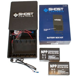 BATTERY BOX KIT WITH HARNESS AND 2 BATTERIES-14241120