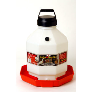PLASTIC POULTRY AUTOMATIC WATERER 5 GALLON-22612255