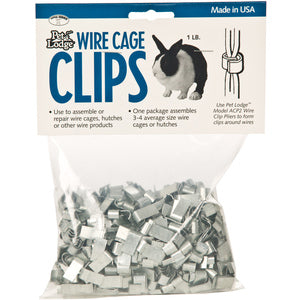 WIRE CAGE CLIPS - 1 LB BAG-22680188