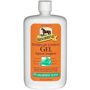 ASOBRBINE VETERINARY LINIMENT GEL - 12 OZ-22701524