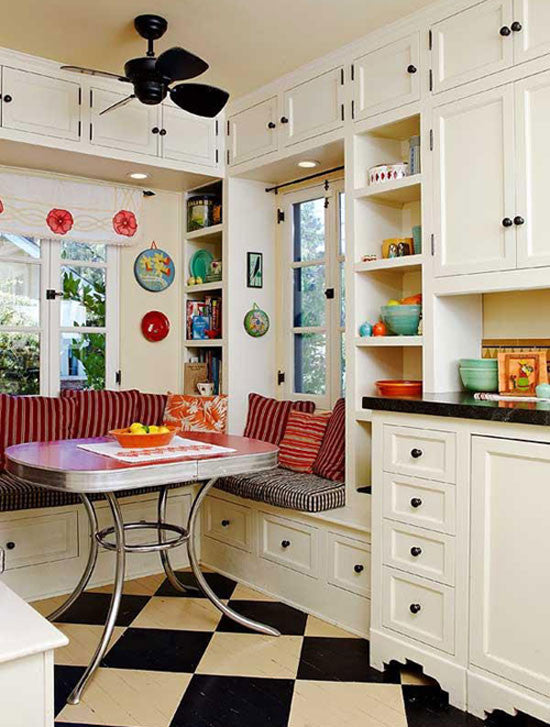 So you've always dreamed of a breakfast nook.