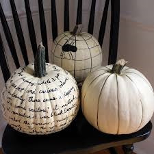 White pumpkin love.....