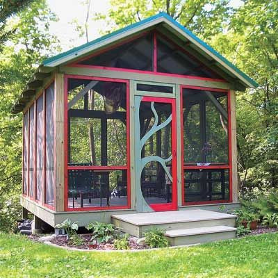 So If You Donu0027t Have A Screened In Porch A Screened Garden Shed Maybe A  Perfect Fit.