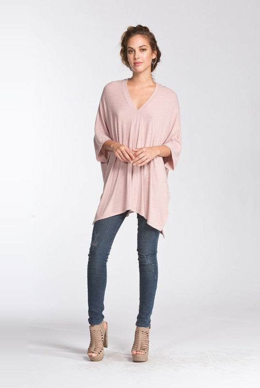 Ava Top in Blush