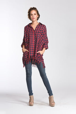 Friday Flannel Top