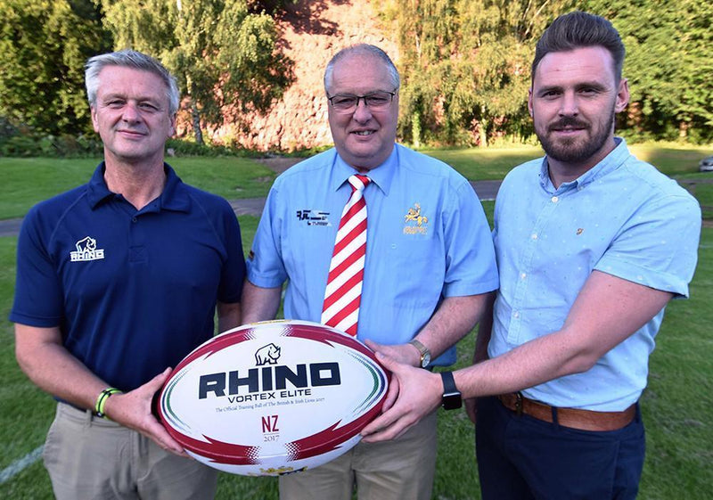 Rhino Teamwear Becomes Scottish Border League Ball Supplier