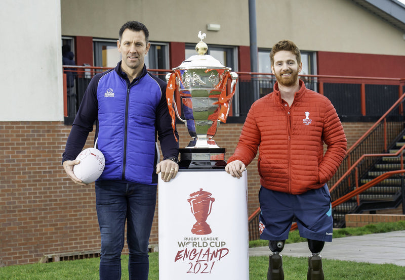 RHINO SIGNS UP FOR RUGBY LEAGUE WORLD CUP 2021 [RLWC2021] INSPIRATIONALL PROGRAMME