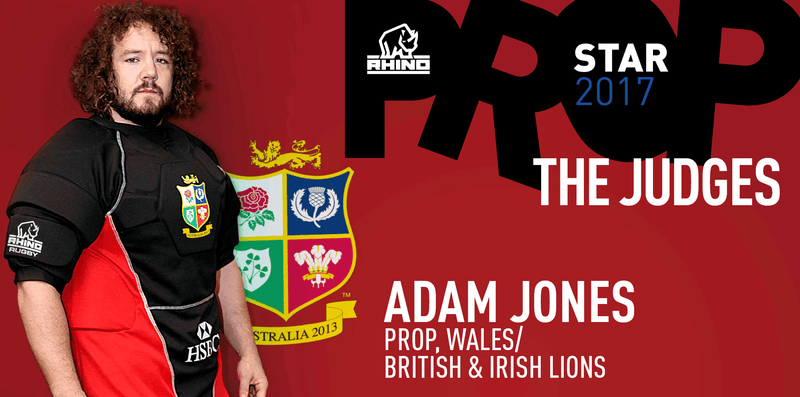 British & Irish Lions star Adam Jones joins search for Rhino Prop Star 2017