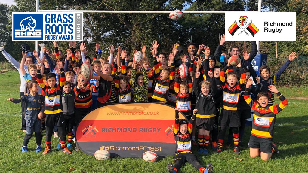 Richmond FC shortlisted for Rhino Grassroots Rugby Award