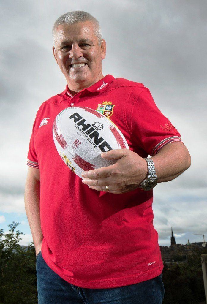 Warren Gatland Confirmed As Lions Head Coach For New Zealand