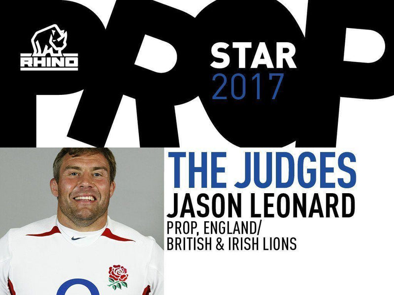 England and Lions legend Jason Leonard joins the search for Rhino Prop Star 2017