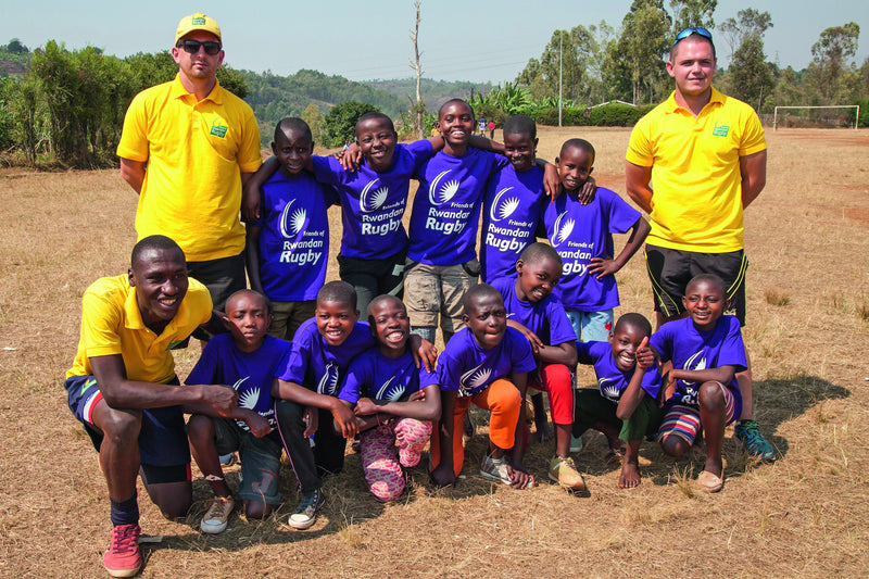 Rwandan rugby charity shortlisted for Rhino Grassroots Rugby Award