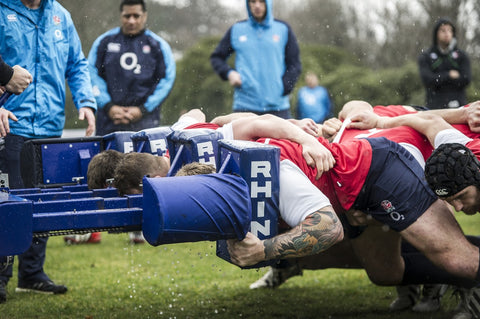 Rhino rugby scrum machine