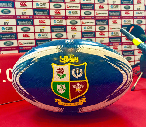 British & Irish Lions blue ball