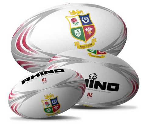 British & Irish Lions white supporters ball