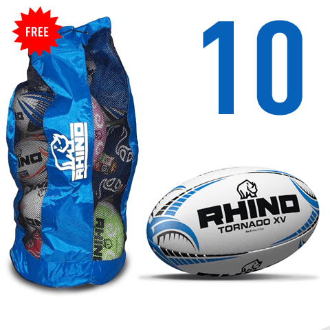 10X Tornado XV Match Ball Bundle - rhino-direct-2.myshopify.com