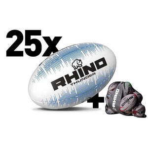 X25 White Thunder Training Ball Bundle
