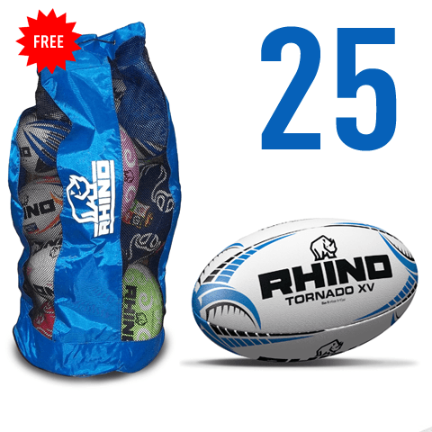 25X Tornado XV Match Ball Bundle - rhino-direct-2.myshopify.com