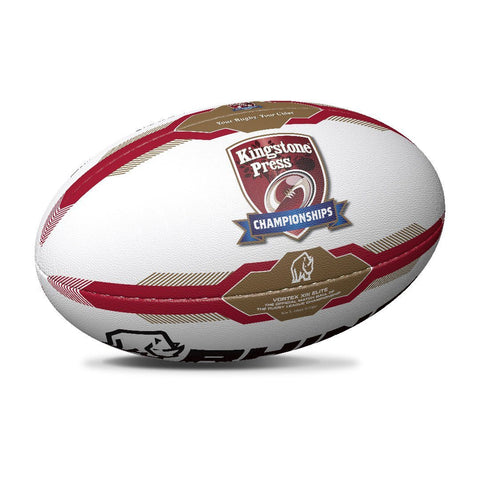 Kingstone Press Championship Match Rugby Ball - Size 5