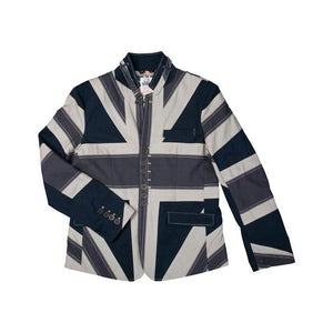Union Flag Buckle Collar Jacket