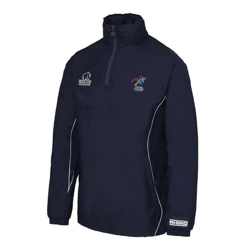 Oxford Cavaliers RLFC Junior Hurricane 1/4 Zip Rain Jacket