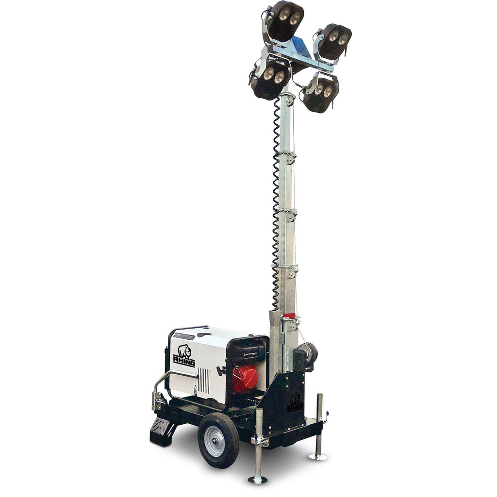 Rhino Baby-Lite (LED-4) - Portable Mobile Lighting Tower - rhino-direct-2.myshopify.com