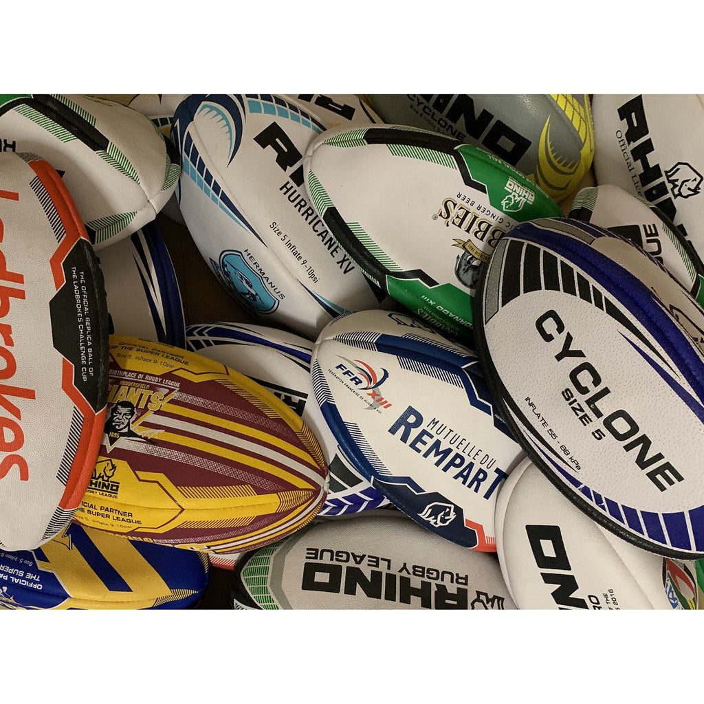 100X Rhino Surplus Rugby Balls - Mini - rhino-direct-2.myshopify.com