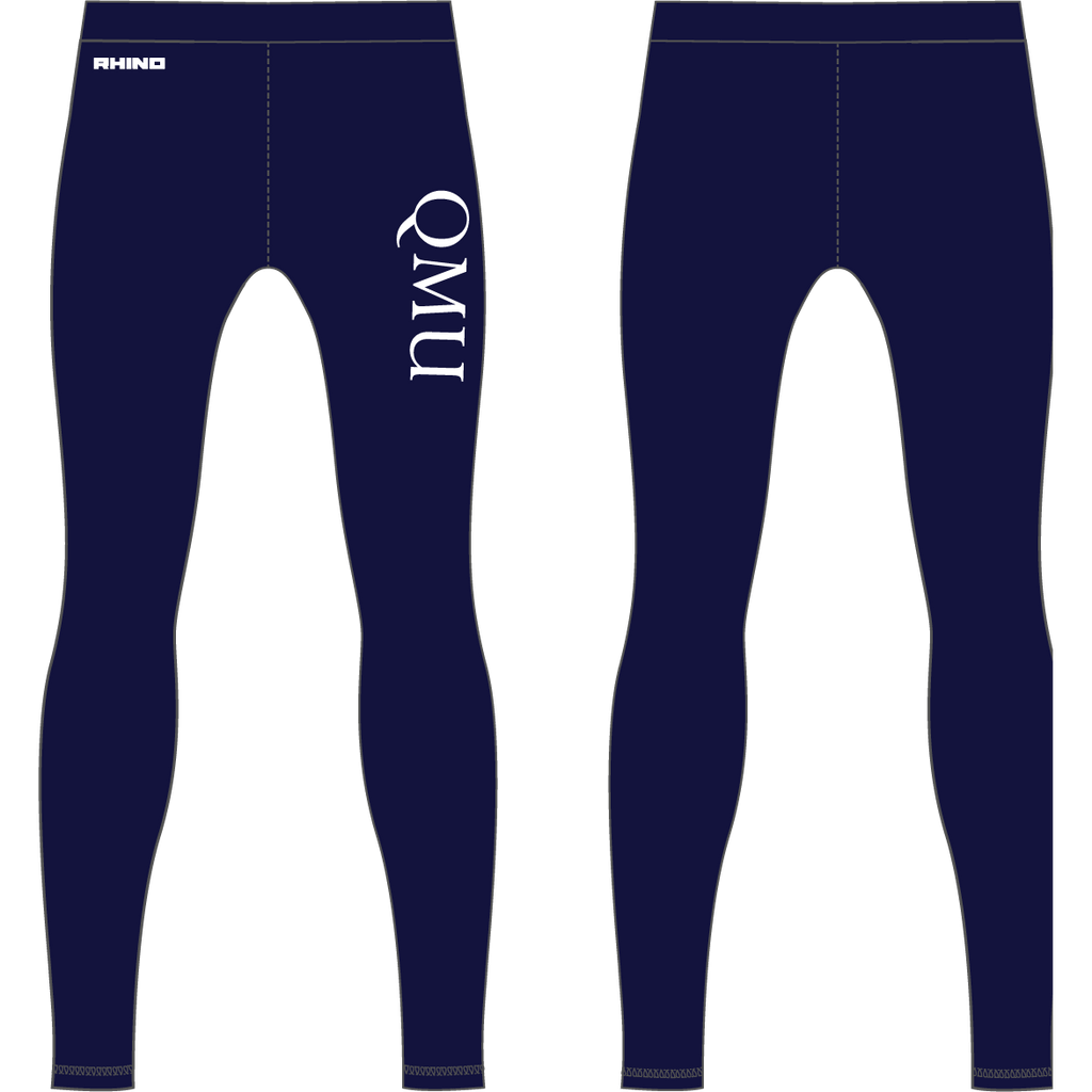 Queen Margaret University Basketball Baselayer Leggings - rhino-direct-2.myshopify.com