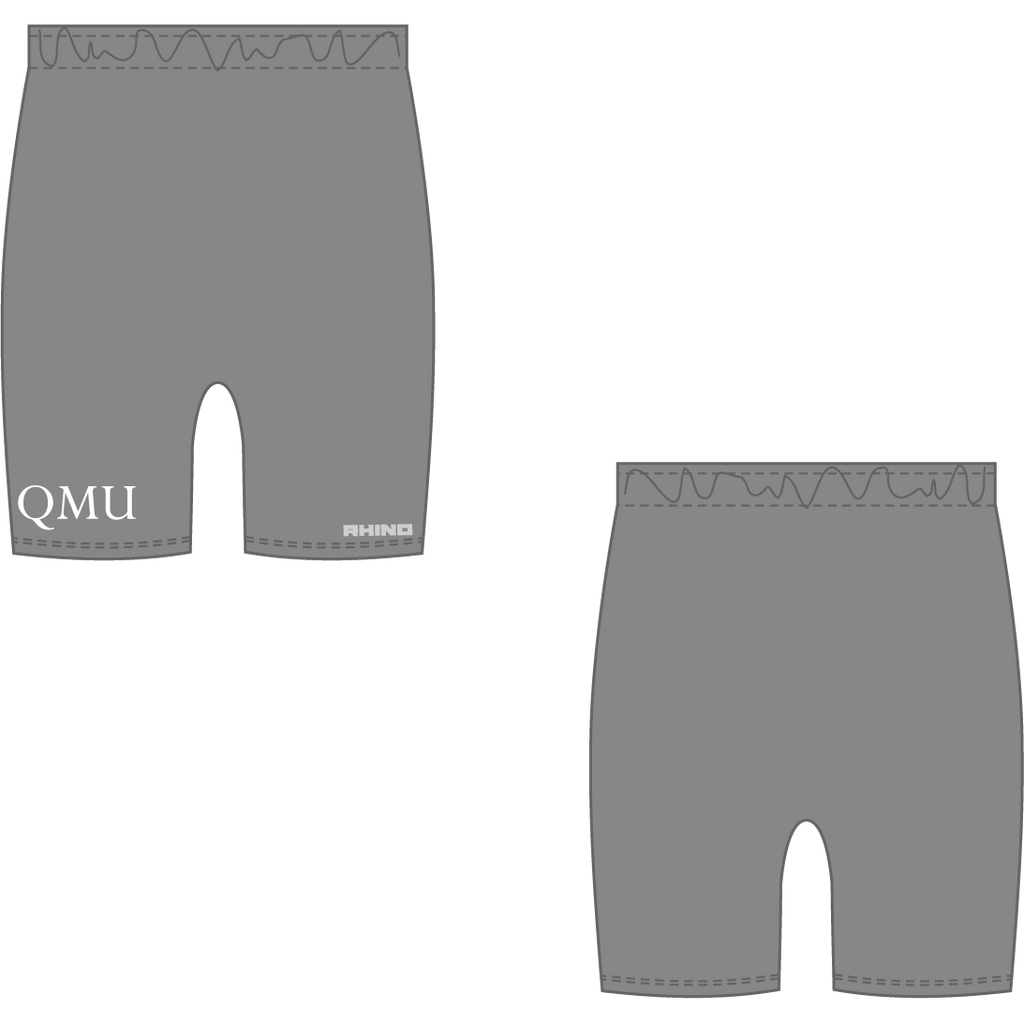 Queen Margaret University Basketball Baselayer Short - rhino-direct-2.myshopify.com
