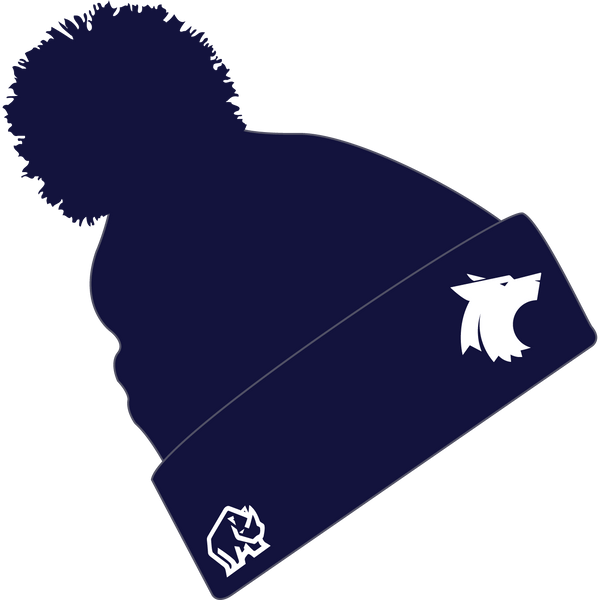 WLV Women's Football Bobble Hat
