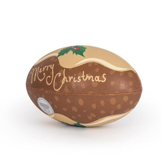 Rhino Size 5 Christmas Pudding Ball