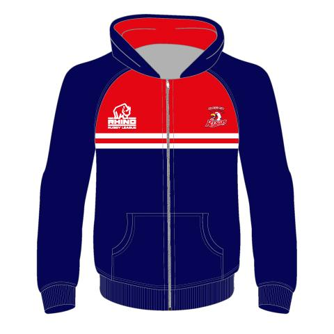 Salford City Roosters Junior Full Zip Hoodie