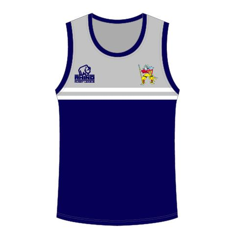 Hunslet Warriors ARLFC Senior Training Vest - rhino-direct-2.myshopify.com