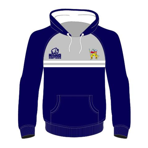Hunslet Warriors ARLFC Junior Hoodie - rhino-direct-2.myshopify.com