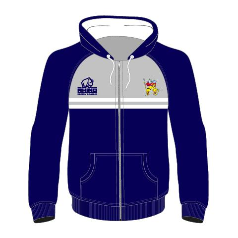 Hunslet Warriors ARLFC Senior Full Zip Hoodie