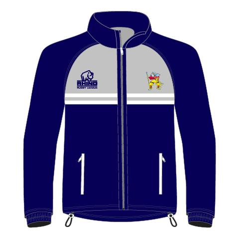 Hunslet Warriors ARLFC Senior Rain Jacket - rhino-direct-2.myshopify.com