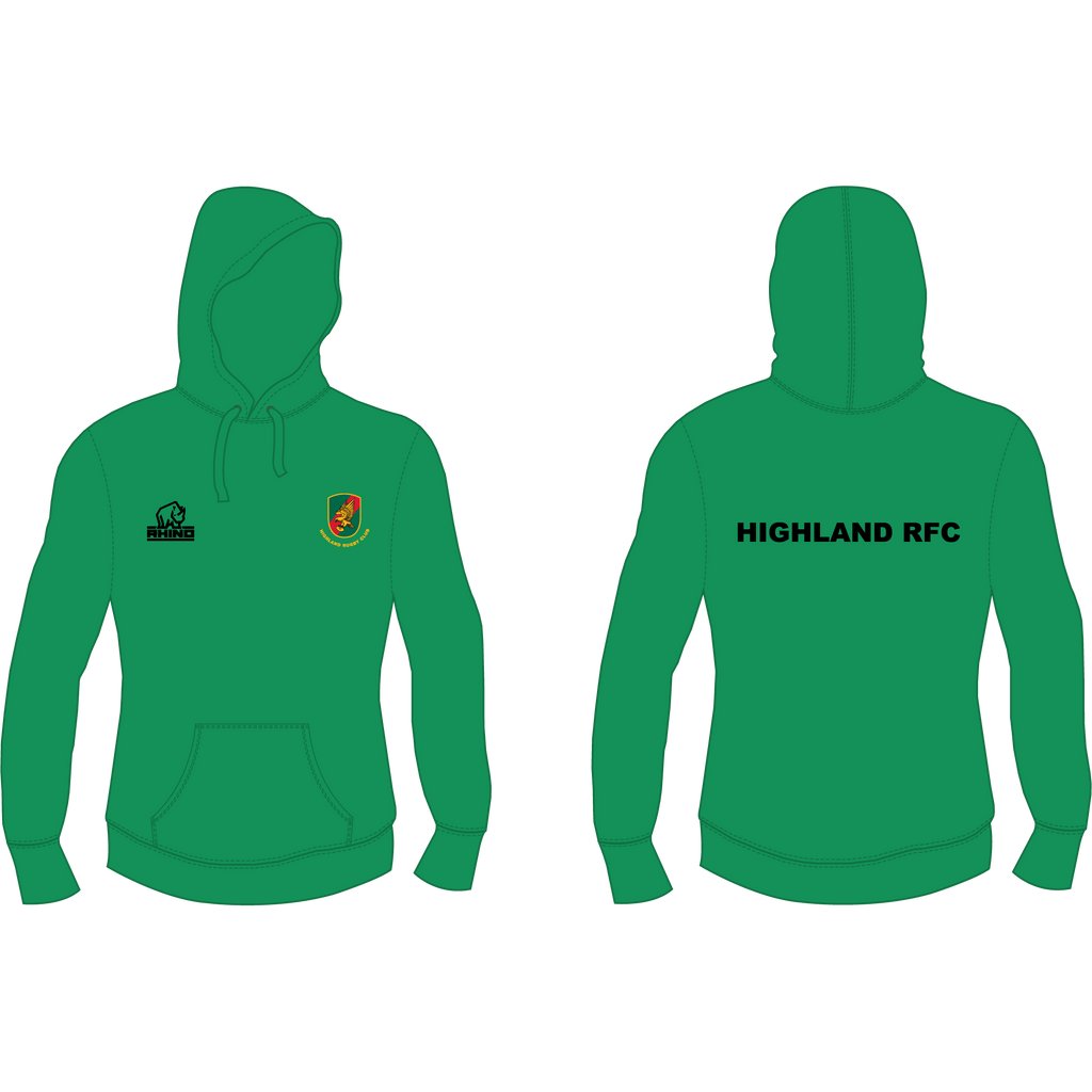 Highland RFC Women's Hoodie - rhino-direct-2.myshopify.com