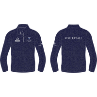 Queen Margaret University Volleyball Hyper 1/4 Zip Lightweight Midlayer - rhino-direct-2.myshopify.com