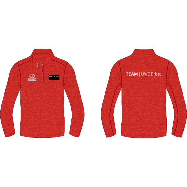 UWE Volleyball Hyper 1/4 Zip Lightweight Midlayer