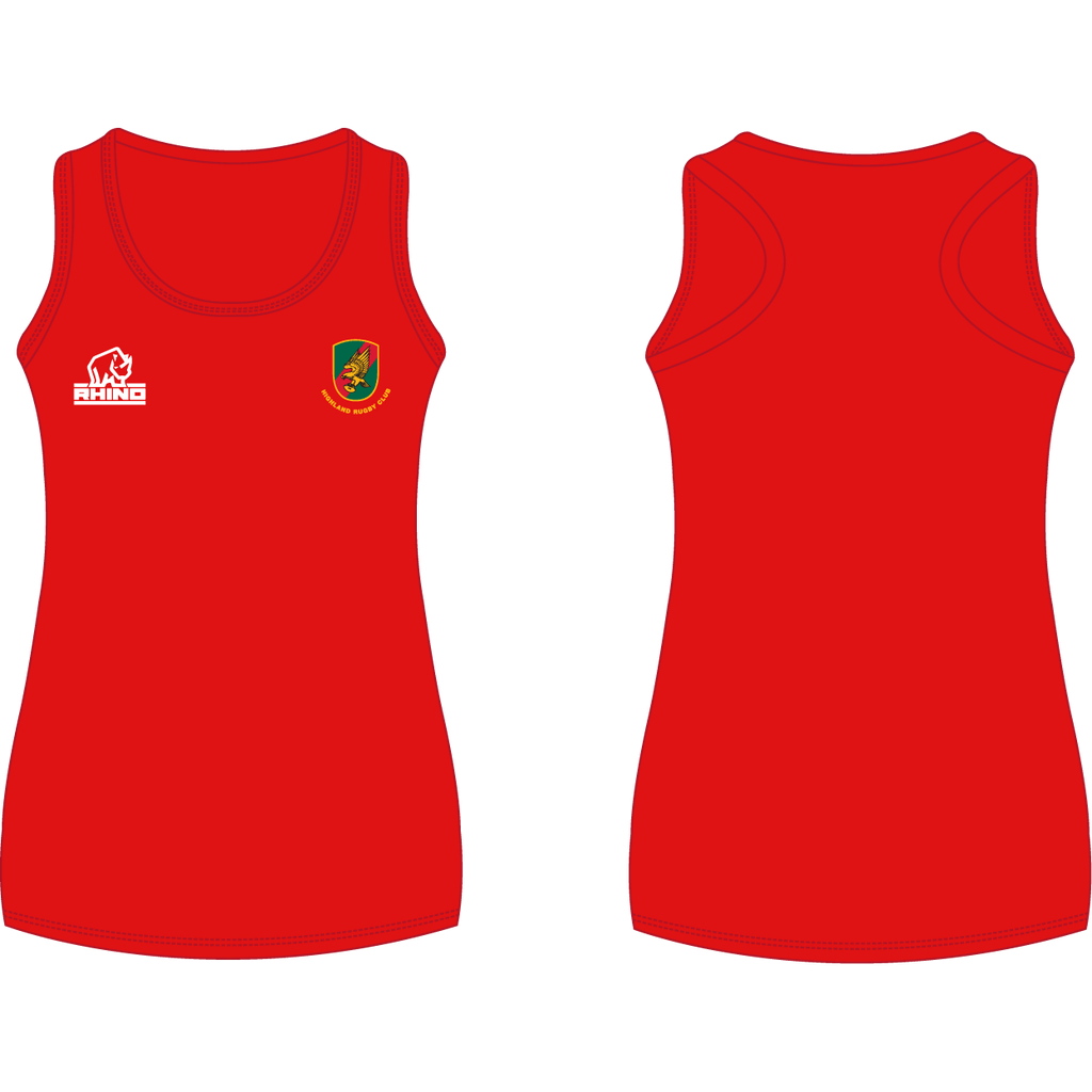 Highland RFC Women's Vest - rhino-direct-2.myshopify.com