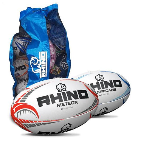 Training and Match Rugby Union Ball Bundle Pack