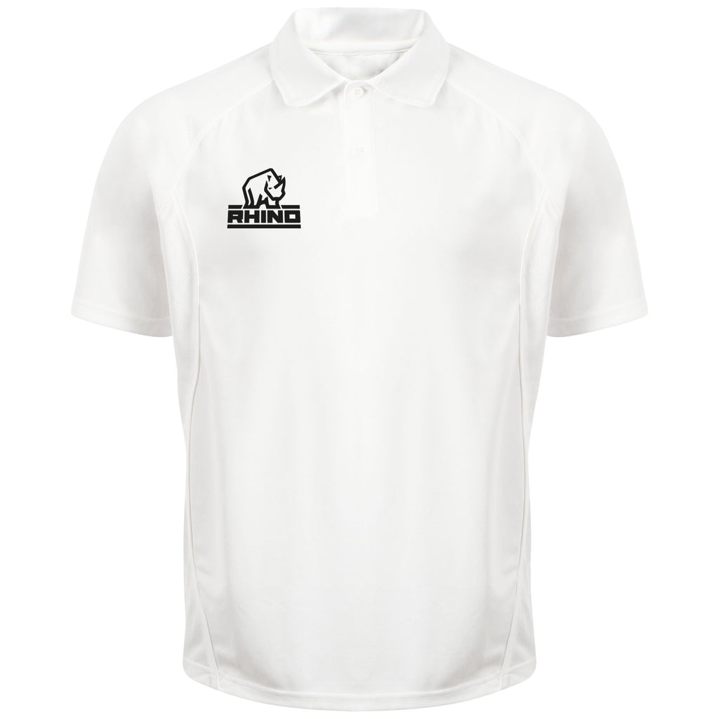 Rhino Adult Cricket Performance Short Sleeve Polo Shirt
