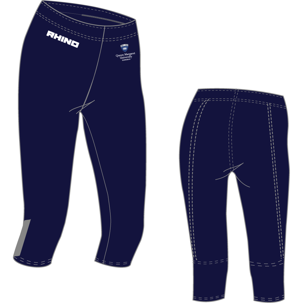 Queen Margaret University Netball 3/4 Leggings