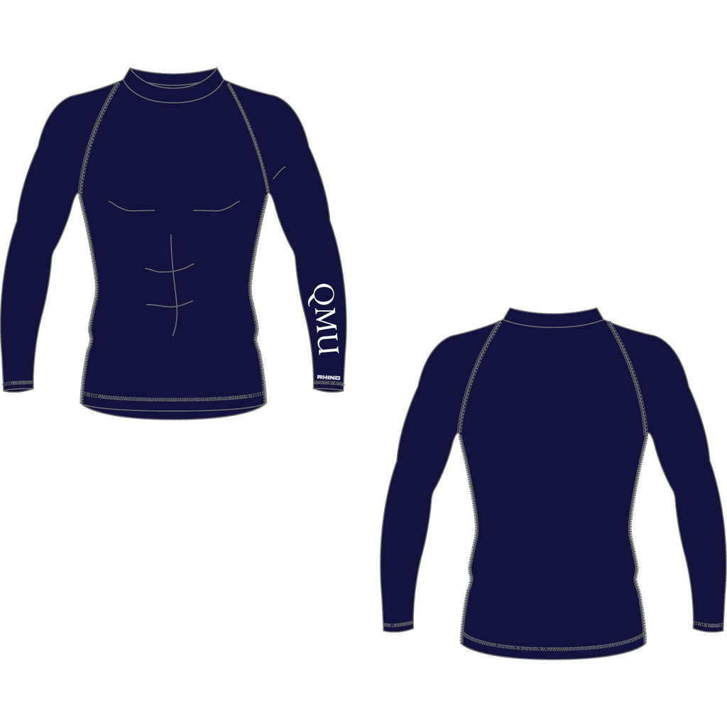 Queen Margaret University Basketball Longsleeve Baselayer - rhino-direct-2.myshopify.com